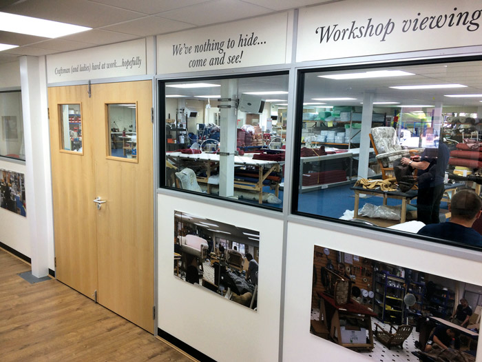 Our new Customer Workshop Viewing Gallery