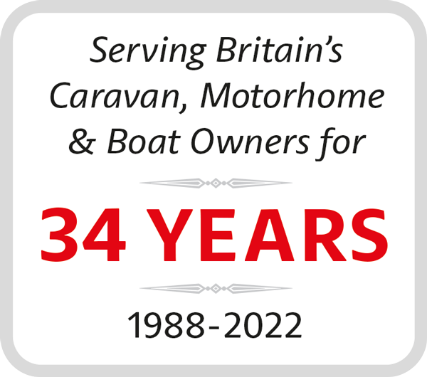 Serving Britain's Caravan, Motorhome, Boat, Yacht and Horsebox owners for over 31 years