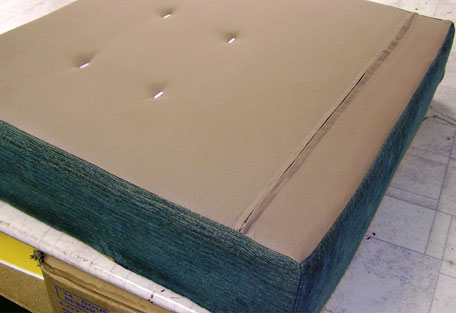 We fit new zipped cushion linings to protect the foam cushion bases for years to come