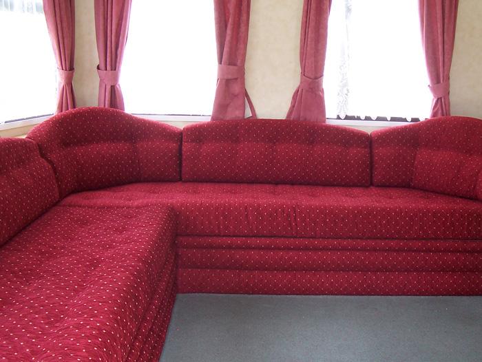 Static Caravan Furnishings And Upholstery