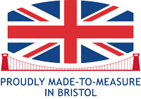 Proudly made-to-measure in Bristol