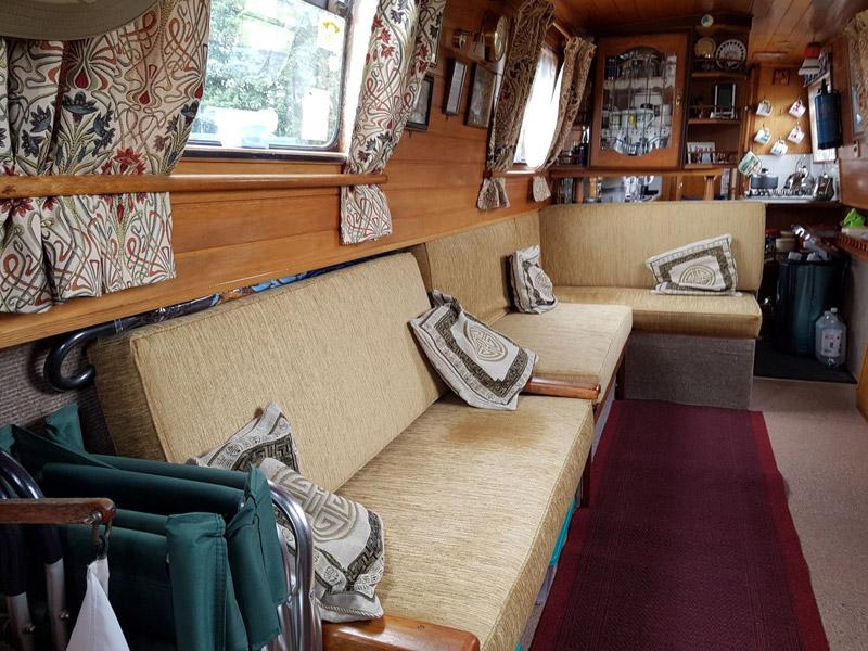 Boat, Yacht & Narrowboat Furnishings and Upholstery