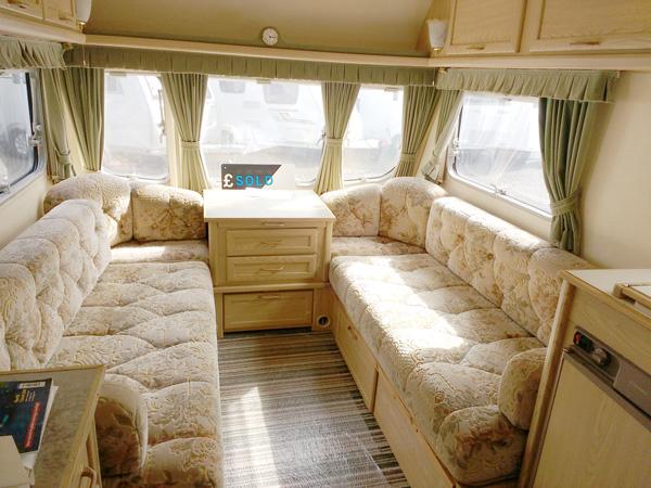 Touring Caravan Furnishings and Upholstery