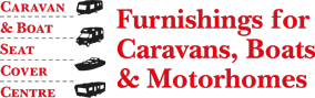 Furnishings and upholstery for caravans, motorhomes, horseboxes, boats and yachts